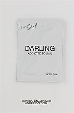 Духи, Парфюмерия, косметика Восстанавливающий лосьон для тела после загара - Darling Addicted To Sun After-Sun (пробник)