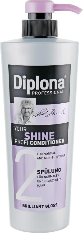 """Кондиционер для тусклых волос """"Ваш профессиональный блеск"""" - Diplona Professional Your Shine Profi"""
