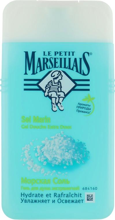"""Гель для душа """"Морская соль"""" - Le Petit Marseillais Shower Gel"""