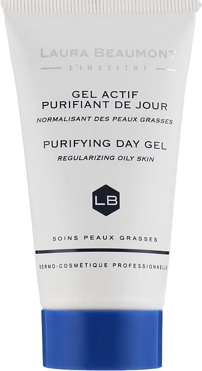 Дневной гель с выраженным себорегулирующим эффектом - Laura Beaumont Purifying Day Gel Regularizing Of Oily Skin