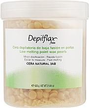"""Духи, Парфюмерия, косметика Прозрачный воск для депиляции в гранулах """"Натуральный"""" - Depilflax Melting Point Wax Pearls"""