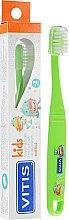 Духи, Парфюмерия, косметика Зубная щетка детская, мягкая, зеленая - Dentaid Vitis Kids