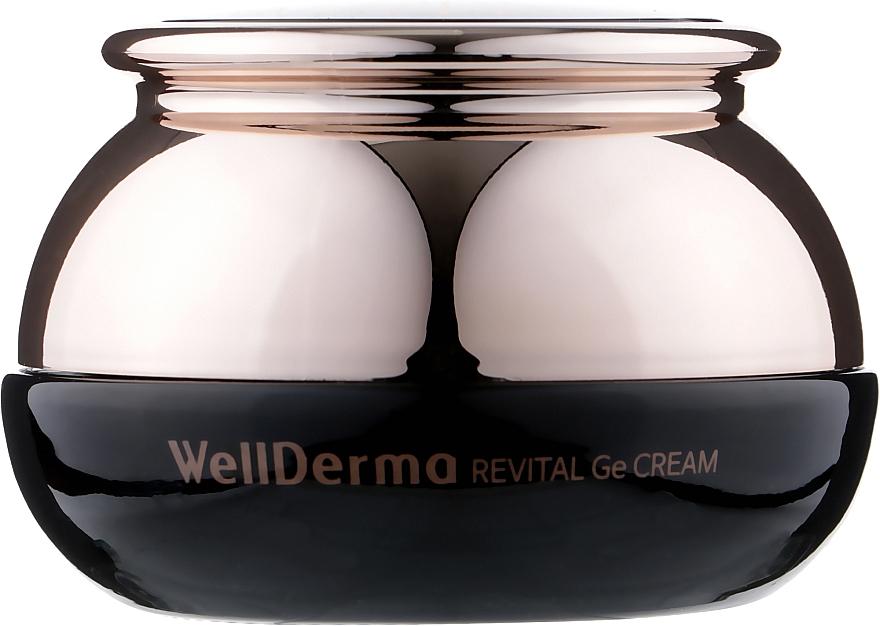 Антивозрастной спа-крем с германием - WellDerma Revital Ge Cream