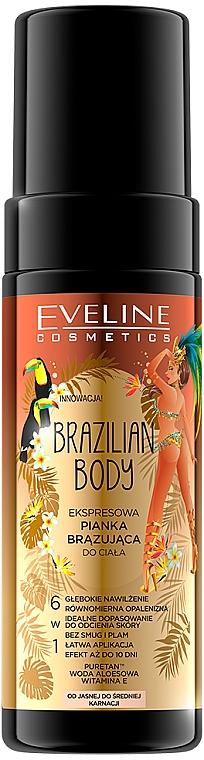 Пена для автозагара - Eveline Cosmetics Brazilian Body