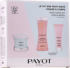 Духи, Парфюмерия, косметика Набор - Payot Hydra 24+ Must-Have Kit Face & Body (cr/50ml + sh/oil/125ml + b/lot/25ml)