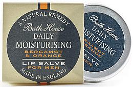 Духи, Парфюмерия, косметика Мужской бальзам для губ - Bath House Bergamot & Orange Lip Salve