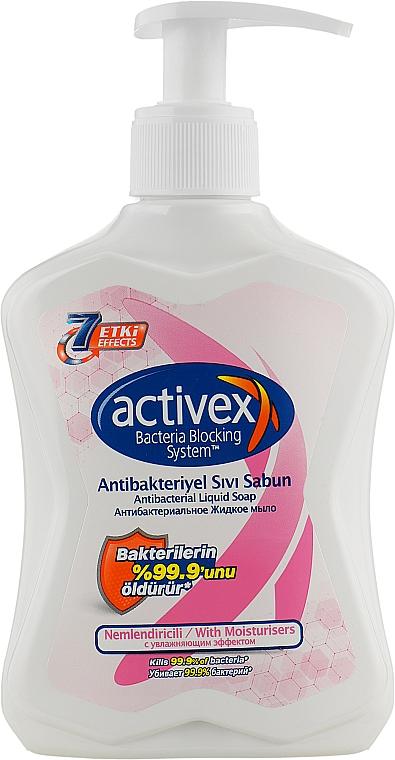 Мыло жидкое антибактериальное увлажняющее - Activex