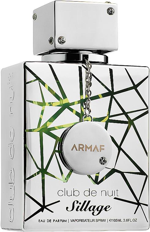 Armaf Club De Nuit Sillage - Парфюмированная вода