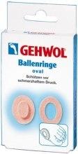 Духи, Парфюмерия, косметика Накладки кольцо овальные - Gehwol Ballenringe oval