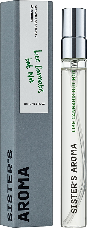 Sister's Aroma Like Cannabis But Not - Парфюмированная вода (мини)
