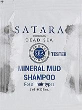 Духи, Парфюмерия, косметика Минеральный грязевой шампунь - Satara Dead Sea Mineral Mud Shampoo (пробник)