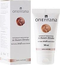 Духи, Парфюмерия, косметика Крем для рук - Orientana Natural Snail Hand Cream