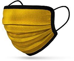 Духи, Парфюмерия, косметика Многоразовая 6-слойная маска, желтая - RiMAR