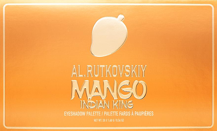 Палетка теней для век - AL.Rutkovskiy Mango Indian King Eyeshadow Palette