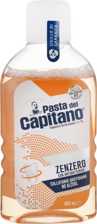 Ополаскиватель для полости рта со вкусом имбиря - Pasta Del Capitano Ginger Mouthwash