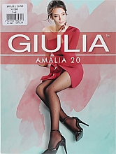 "Парфумерія, косметика Колготки для жінок ""Amalia Model 9"" 20 Den, nero - Giulia"