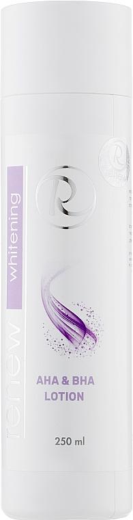 Лосьон для лица с альфа и бета гидрокислотами - Renew Whitening AHA and BHA Lotion