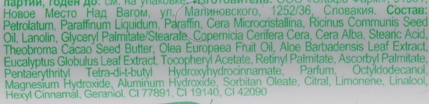 Гігієнічна помада евкаліпт і алое - Домашний Доктор — фото N3