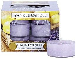 Духи, Парфюмерия, косметика Чайные свечи - Yankee Candle Scented Tea Light Candles Lemon Lavender