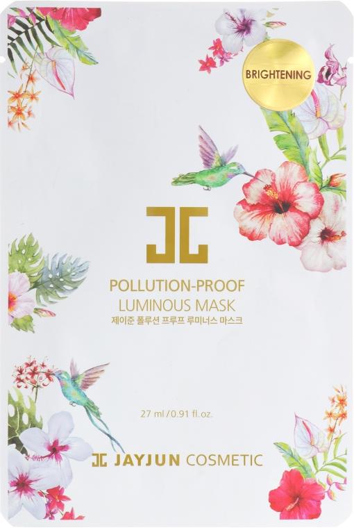 Очищающая тканевая маска для лица - Jayjun Pollution-Proof Luminous Mask