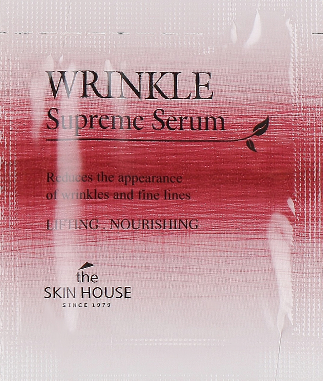 Питательная сыворотка с женьшенем - The Skin House Wrinkle Supreme Serum (пробник)