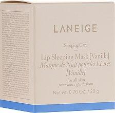 Духи, Парфюмерия, косметика Ночная маска для губ - Laneige Lip Sleeping Mask Vanilla