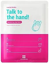 Духи, Парфюмерия, косметика Маска для рук - Leaders Essential Wonders Talk To The Hand! Mask