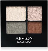Духи, Парфюмерия, косметика Стойкие тени для глаз - Revlon Colorstay 16 Hour Eyeshadow Quad