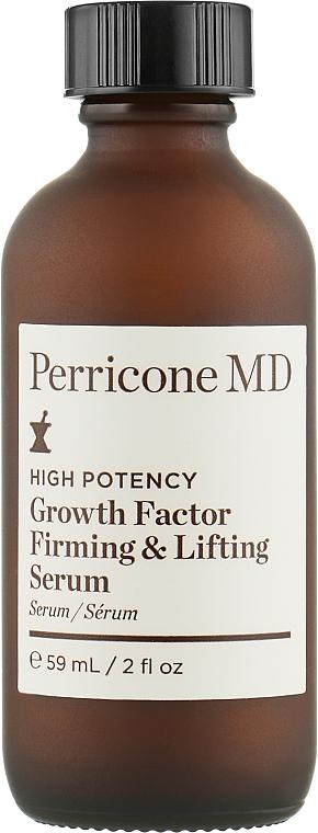 Укрепляющая лифтинг сыворотка - Perricone MD High Potency Growth Factor Firming & Lifting Serum