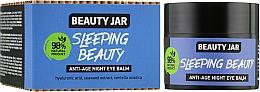 Парфумерія, косметика Нічний антивіковий бальзам для шкіри навколо очей Sleeping Beauty - Beauty Jar Anti-Age Night Eye Balm