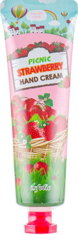 Клубничный крем для рук - Esfolio Picnic Strawberry Hand Cream
