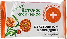 Духи, Парфюмерия, косметика Детское крем-мыло с календулой - Домашний Доктор