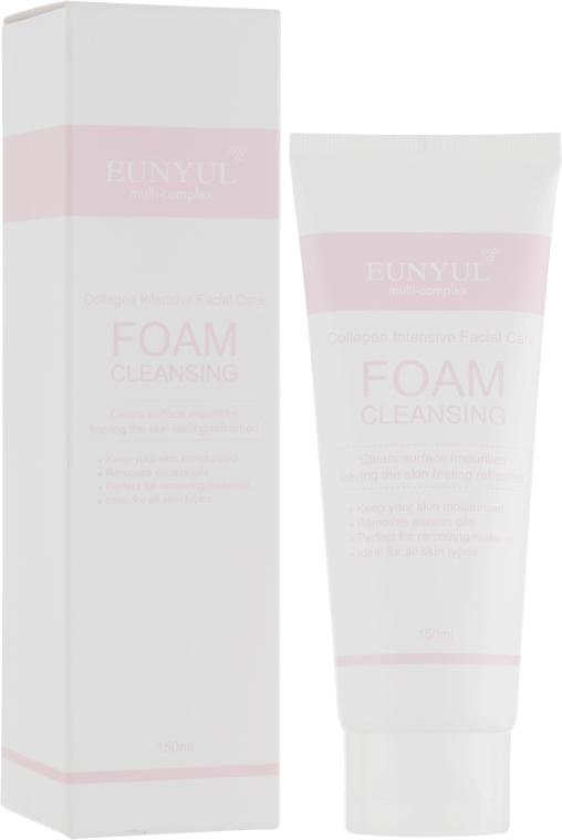 Пенка для умывания лица коллагеновая - Eunyul Collagen Foam Cleanser