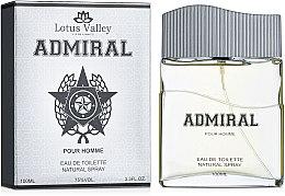 Духи, Парфюмерия, косметика Lotus Valley Admiral - Туалетная вода