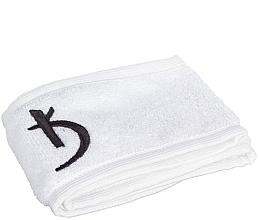 Парфумерія, косметика Пов'язка махрова на голову на липучці, біла - Kodi Professional