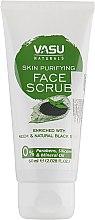 Духи, Парфюмерия, косметика Очищающий скраб для лица - Vasu Naturals Skin Purifying Face Scrub