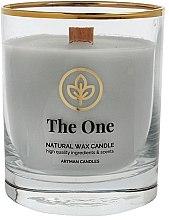 Духи, Парфюмерия, косметика Декоративная свеча в стакане, 8х9.5см - Artman Organic The One