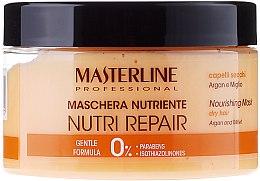 Духи, Парфюмерия, косметика Питательная маска для волос - Masterline Professional Nutri Repair Nourishing Mask