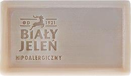 Дерматологическое мыло с зеленой глиной - Bialy Jelen Apteka Alergika Soap — фото N2