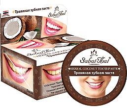 Духи, Парфюмерия, косметика Зубная паста с кокосом - Sabai Thai Herbal Coconut Toothpaste