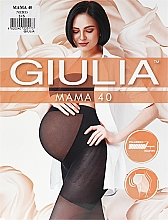 "Духи, Парфюмерия, косметика Колготки для женщин ""Mama"" 40 Den, nero - Giulia"