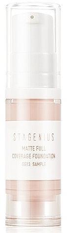 Тональный крем для лица - Stagenius Matte Full Coverage Foundation (пробник)