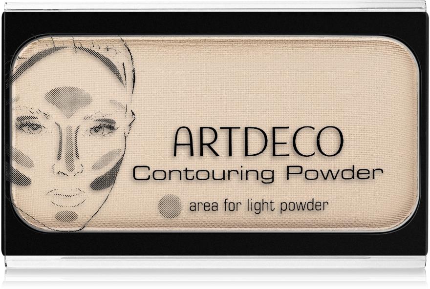 Матовая пудра для лица - Artdeco Contouring Powder