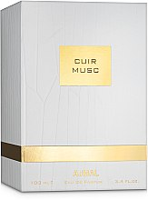 Ajmal Cuir Musc - Парфюмированная вода (тестер с крышечкой) — фото N3