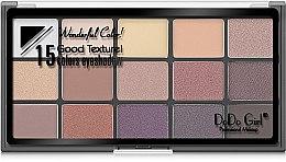 Палетка для макияжа глаз - DoDo Girl 15 Colors Eyeshadow — фото N2