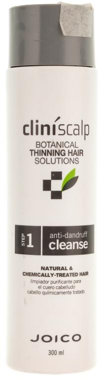 Шампунь очищающийот перхоти - Joico Cliniscalp Anti Dandruff Cleanse Shampoo For Natural/Chemically Treated Hair