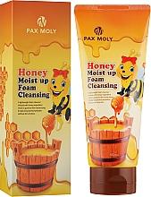 Духи, Парфюмерия, косметика Пенка для лица с экстрактом меда - Pax Moly Honey Moist Up Foam Cleansing
