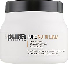 Духи, Парфюмерия, косметика Маска для блеска сухих волос - Pura Kosmetica Nutri Lumia Mask
