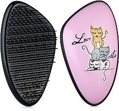 Духи, Парфюмерия, косметика Щетка для волос - Detangler Print Original Love Cats