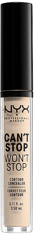 Консилер для лица - NYX Professional Makeup Can't Stop Won't Stop Concealer
